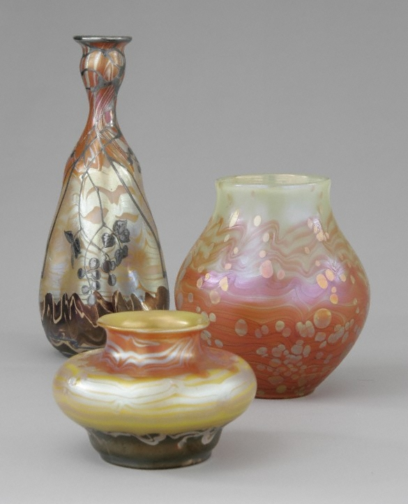 Loetz Composition 3 Vases